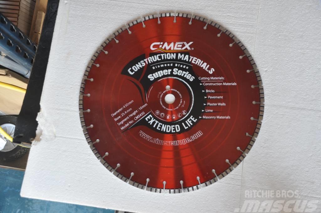 Diamond Blade Construction materials CIMEX CMS450