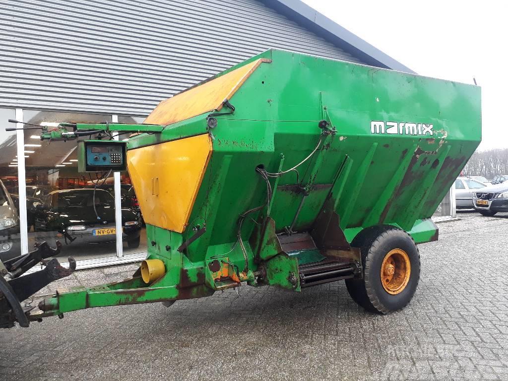 Marmix marge voermengwagen