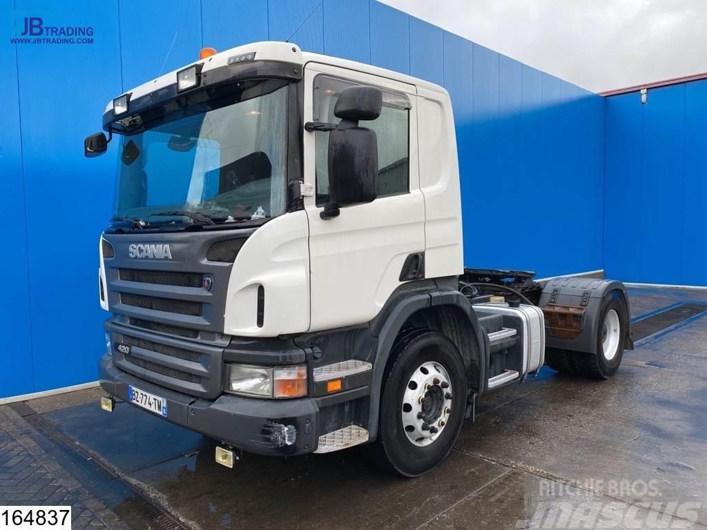 Scania P 420 EURO 5, Manual, Retarder, Hydraulic