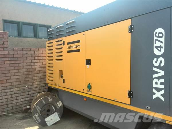 Atlas Copco XRVS476CD & XRHS 366CD