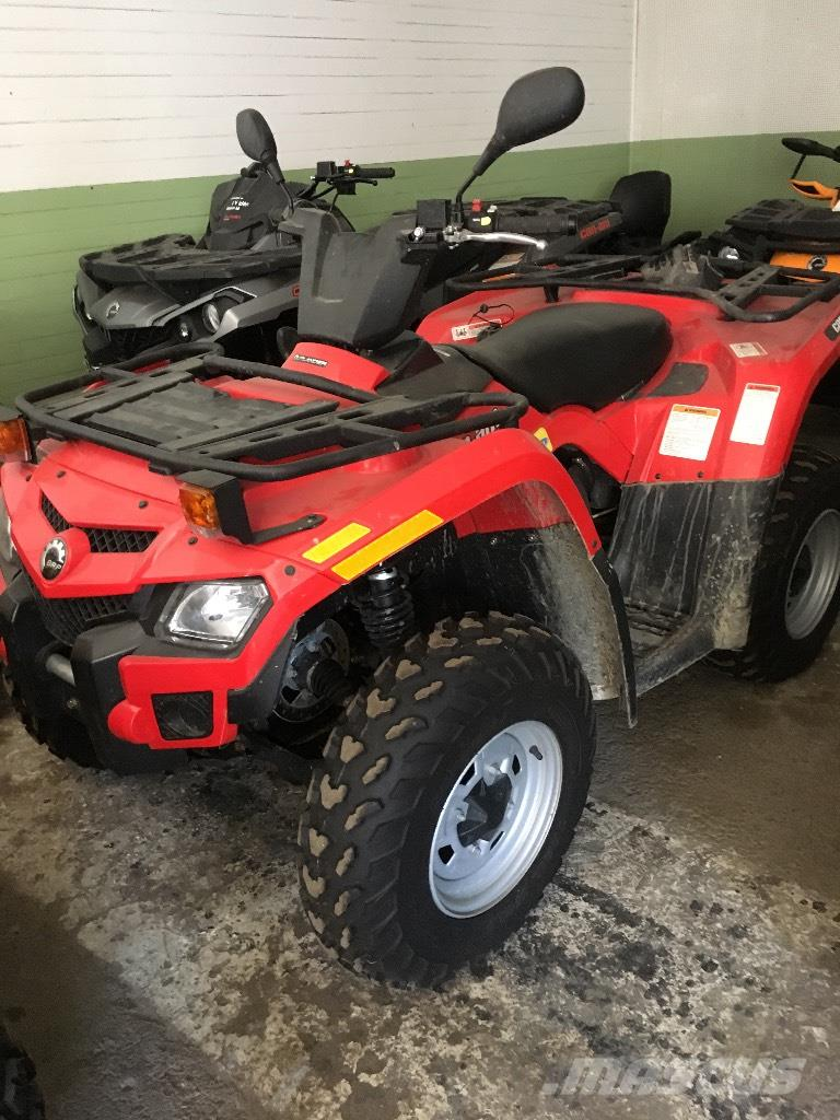 Can-am Outlander 400 T3 nyskick!!