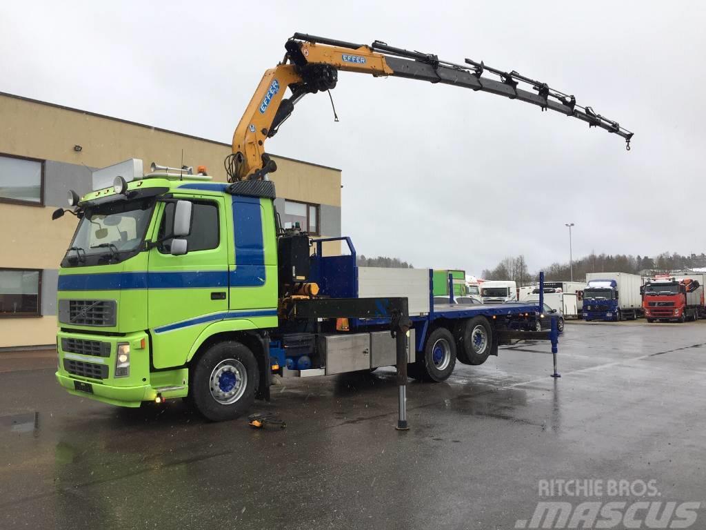 Volvo FH480 6x2+EFFER 370 CRANE