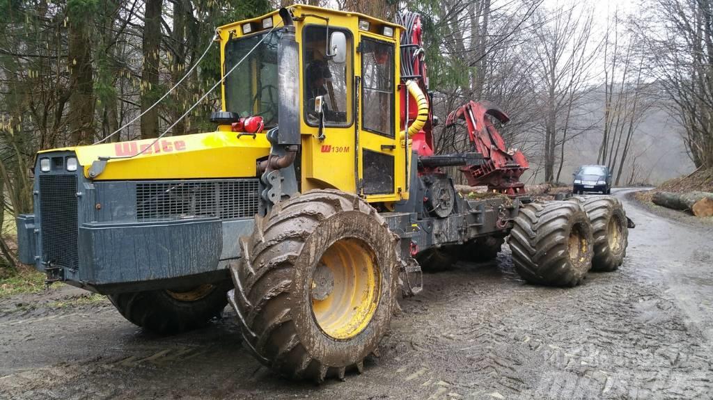 Welte 130 M 6 WD Kombimaschine Erstbesitz Klemmbank Dopp
