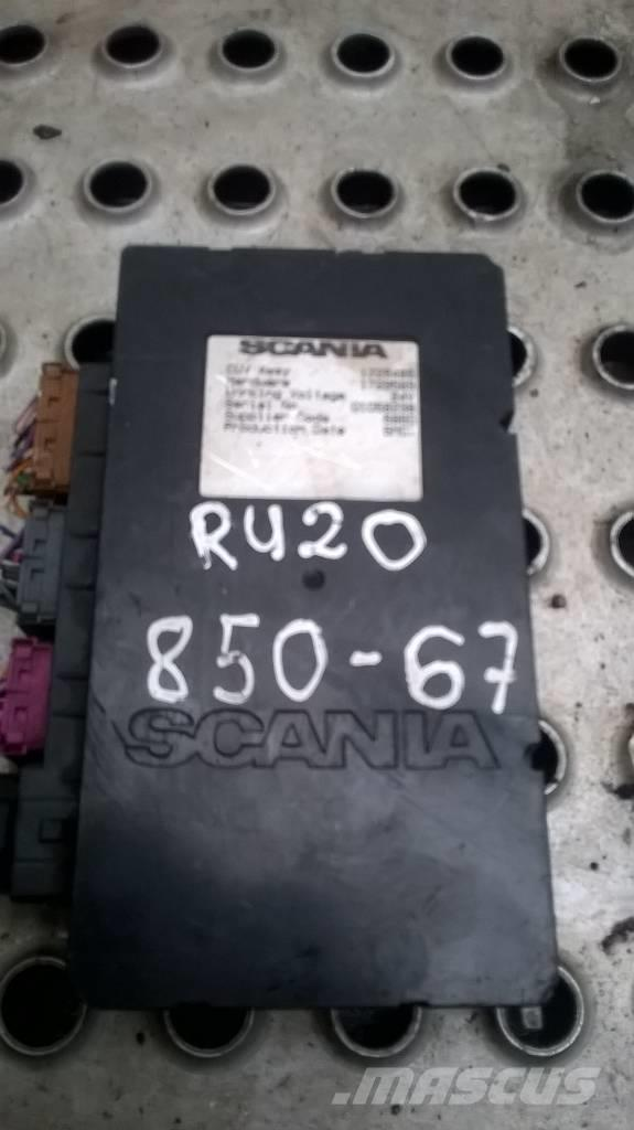 Scania R420 electronic block