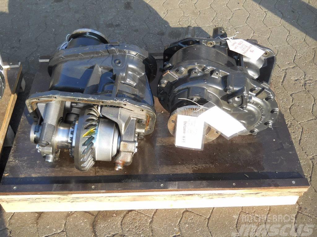 MAN HPD-1353 03 / HPD - 1353 03, 2012, Hjulaxlar