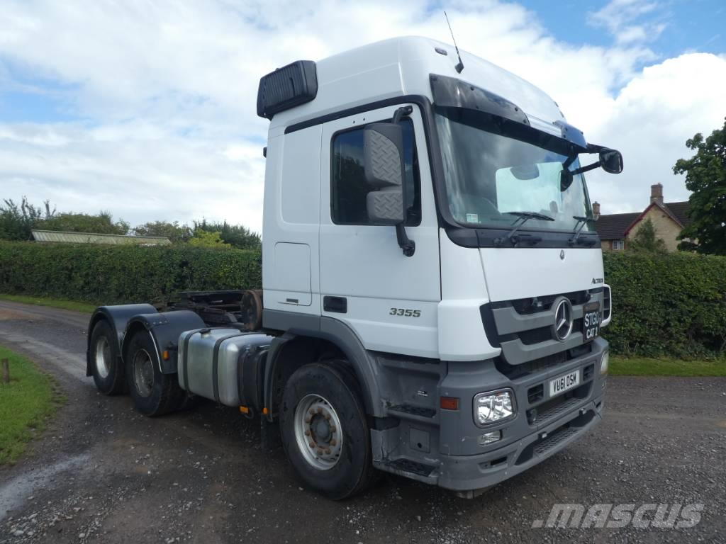 Mercedes-Benz Actros 3355 double drive