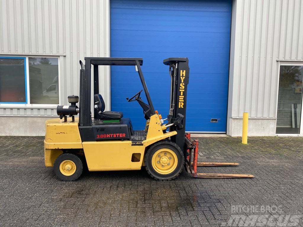 Hyster H 3.00 XL, Heftruck, 3 ton, Diesel