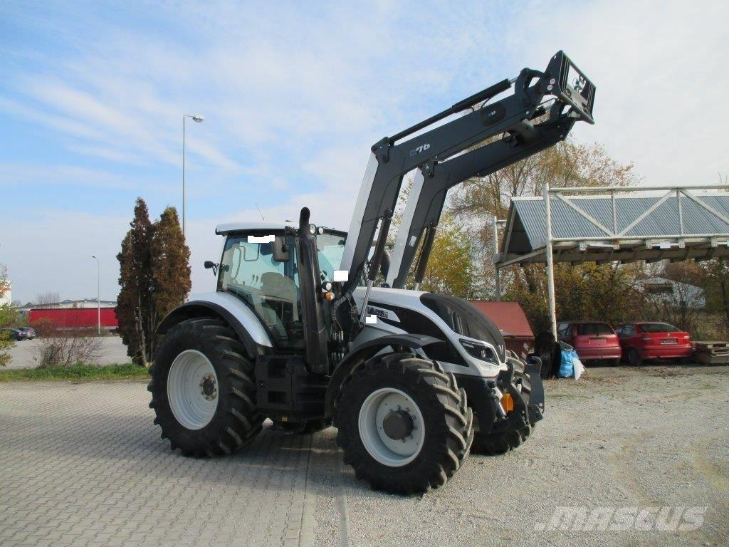 Valtra T144Active + Quicke Q76
