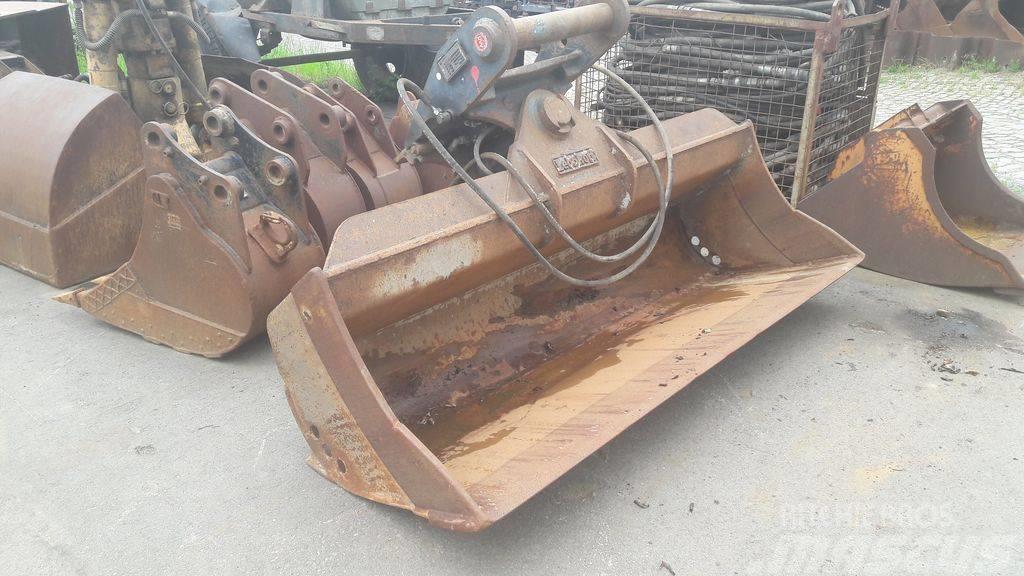 Lehnhoff 2000mm/ MS21 hydraulic ditch cl. bucket