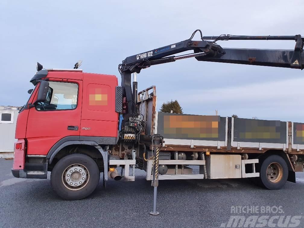 Volvo FM9 260/ crane HIAB 102/ 16m