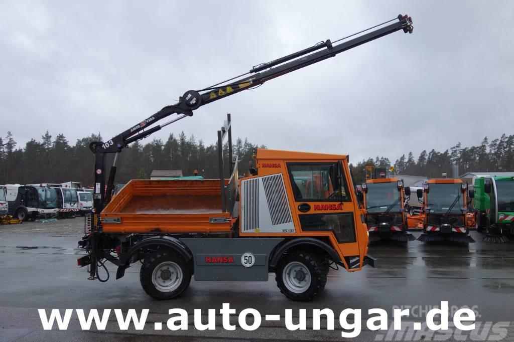 Hansa APZ 1003 Kipper - Amco Veba Kran 4x4x4
