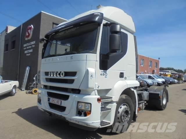 Iveco Stralis 450 manual E5 AT active time