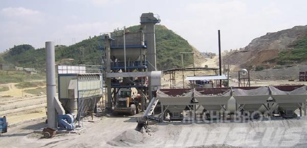 Sanlian LB1000 asphalt concrete mixing plant