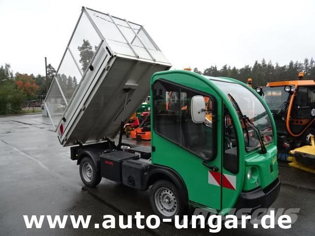 Goupil G3 L Elektrofahrzeug Kipper Kleinlaster mit AHK