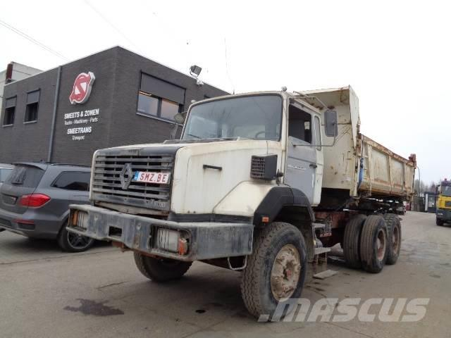 Renault CBH 340 chassis sans benne 80000 km
