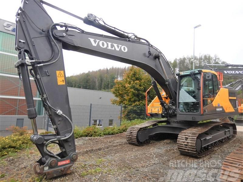 Volvo EC 250 E NL mit OQ70/55