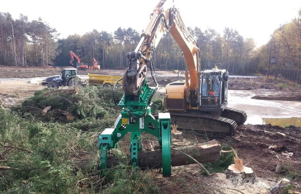 Trevi Tête d'abattage tree shear for 5-36 tons excavator