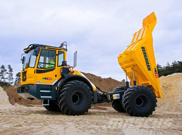 Bergmann Dumper 12 ton nyttolast - Bergmann C815s
