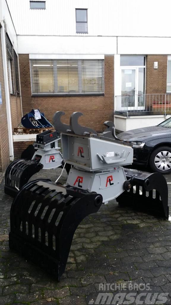 Pladdet Abbruch-Sortiergreifer PRG3-500-II EX