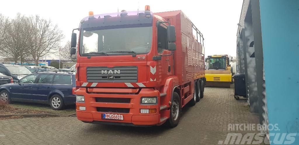 MAN TGA35.390 MÜLLER FATMASTER