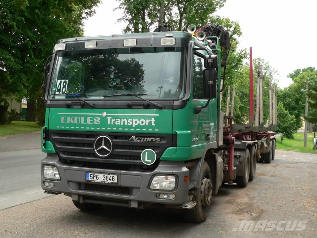 Mercedes-Benz Actros 2644 L 6x4, 2007, Other trucks ...
