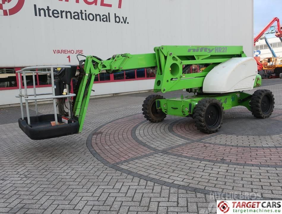 Niftylift HR21D Articulated 4x4 Diesel Boom Work Lift 2080cm