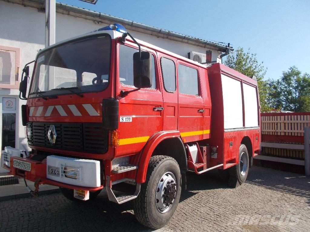 used renault 4x4 po arniczy stra acki fire trucks year 1991 price 24 443 for sale mascus usa. Black Bedroom Furniture Sets. Home Design Ideas