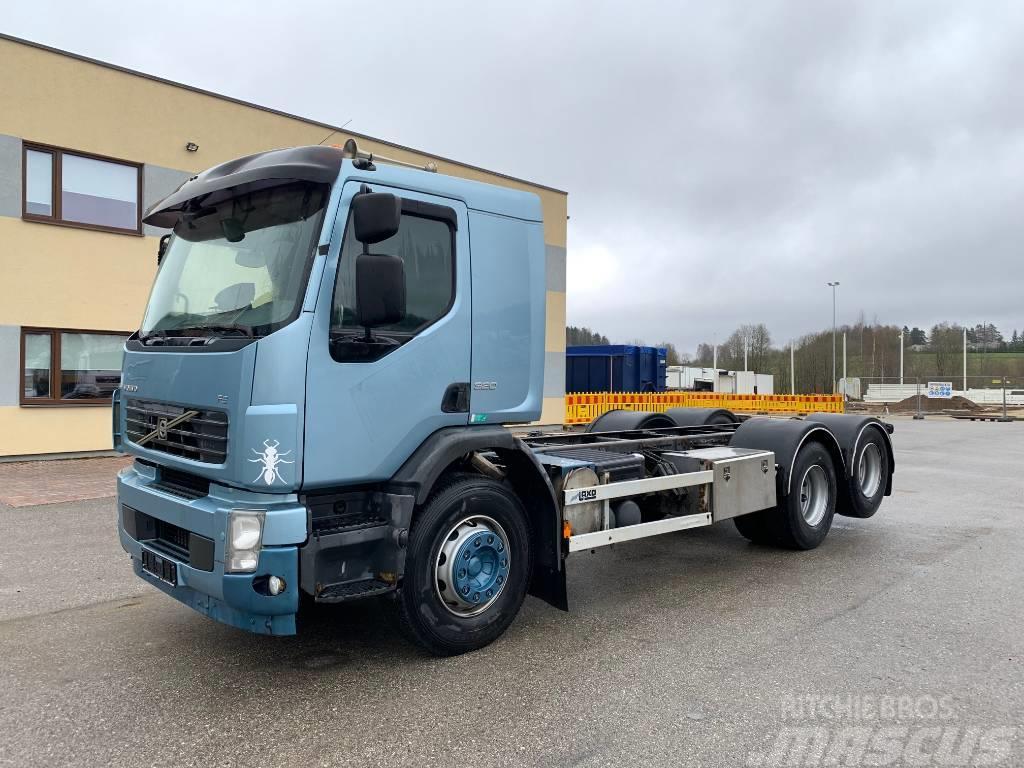 Volvo FE320 6X2+MANUAL
