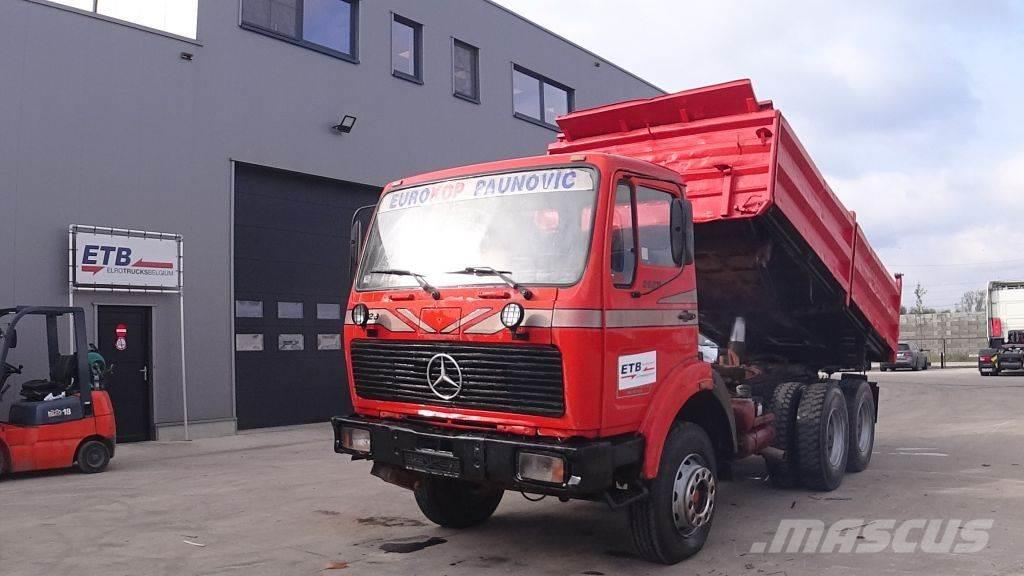 Mercedes-Benz SK 2628 (GRAND PONT / SUSPENSION LAMES / V8 MOTEUR