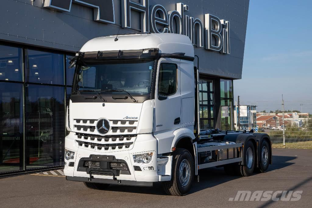 Mercedes-Benz Arocs 2 2853 6x2 Joab 20t Lastväxlare omg lev.