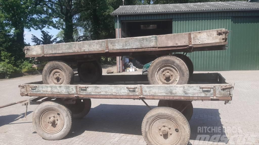 Plattewagen wagen
