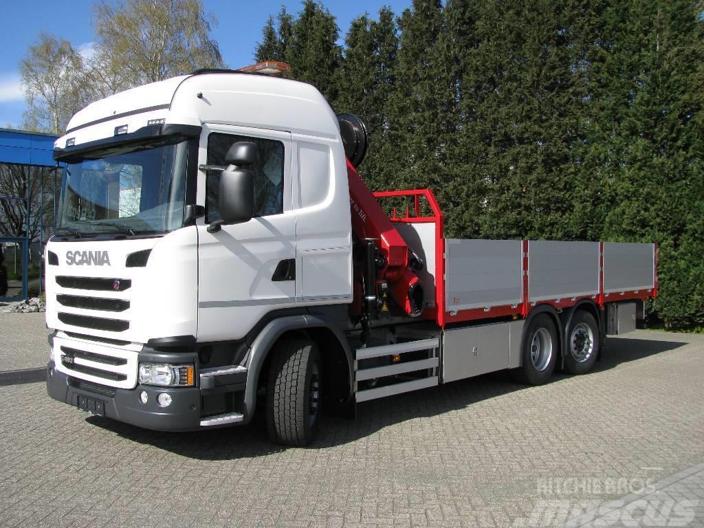 Scania G490 6x2*4 Kranbil - Utleie