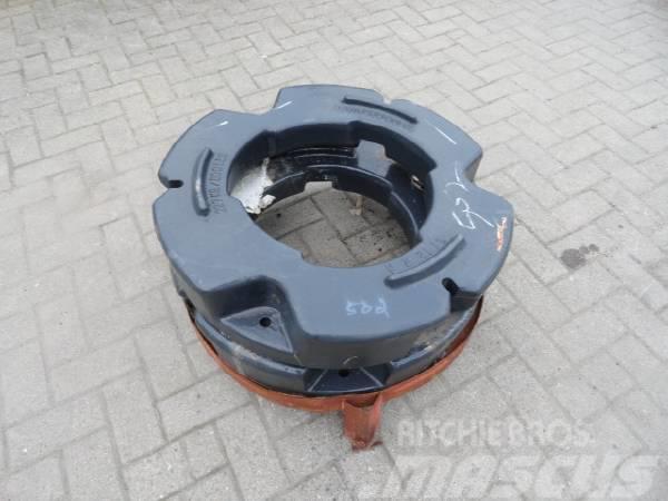 CNH Hinterradgewichte 227 kg