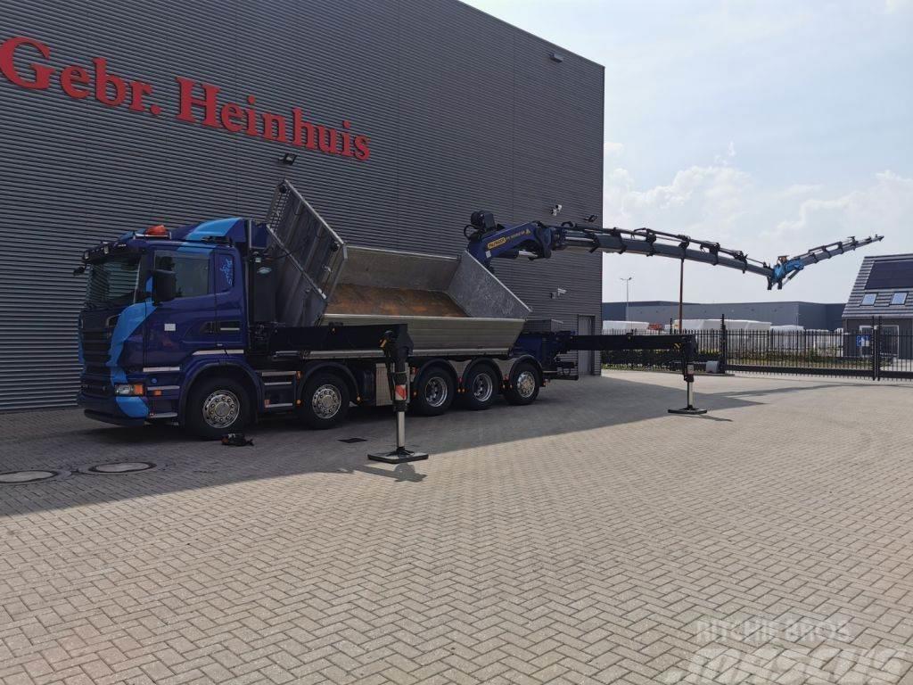 Scania R560-V8 10x4 Euro 5 Palfinger PK 92002 SH 7 x Hydr
