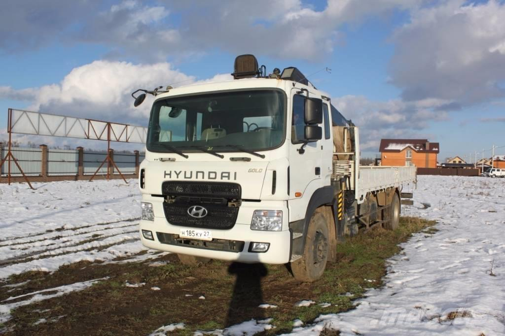 Hyundai GOLD с КМУ HIAB 190TM, 2013, Kranbilar