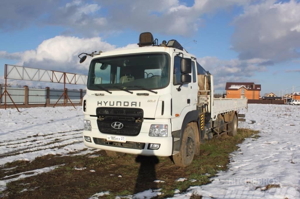 Hyundai GOLD с КМУ HIAB 190TM