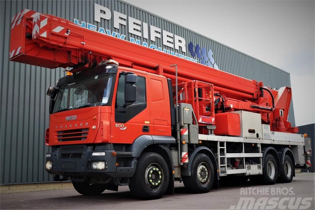 Multitel J2-365 TA 8x4x4 Drive, 66m Working Height, 33m Rea