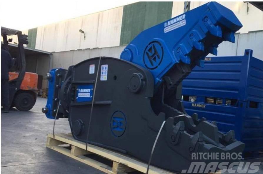 Hammer FR 21 Hydraulic Rotating Pulveriser Crusher 2100KG