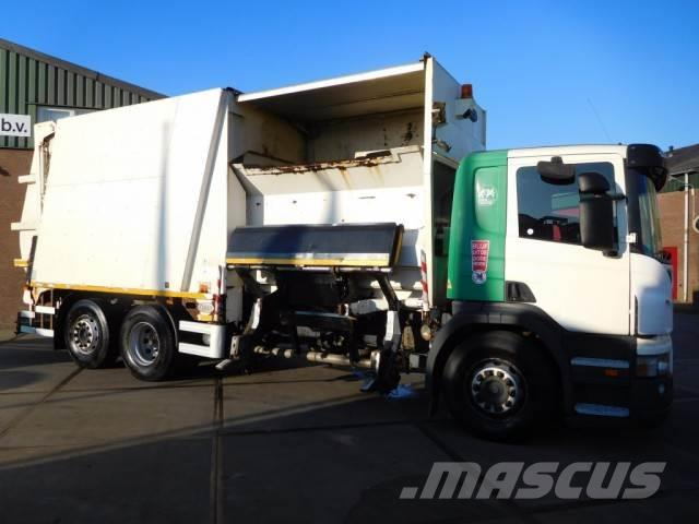 Scania P 230 DB / 6X2 / GARBAGE TRUCK