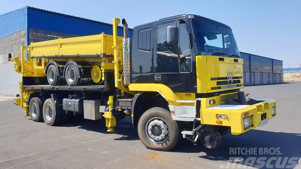 Iveco Truck 6x6 Road Rail HDS with Platform Road Rail 5M