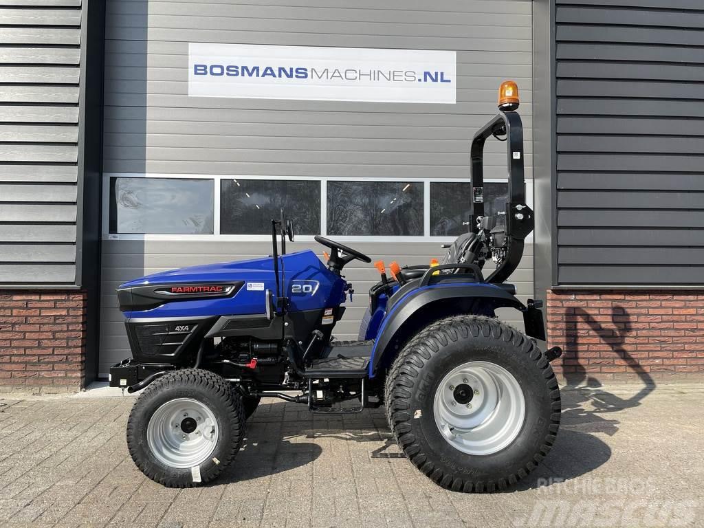 Farmtrac FT20 4WD 18.5 PK minitractor NIEUW op gazonbanden