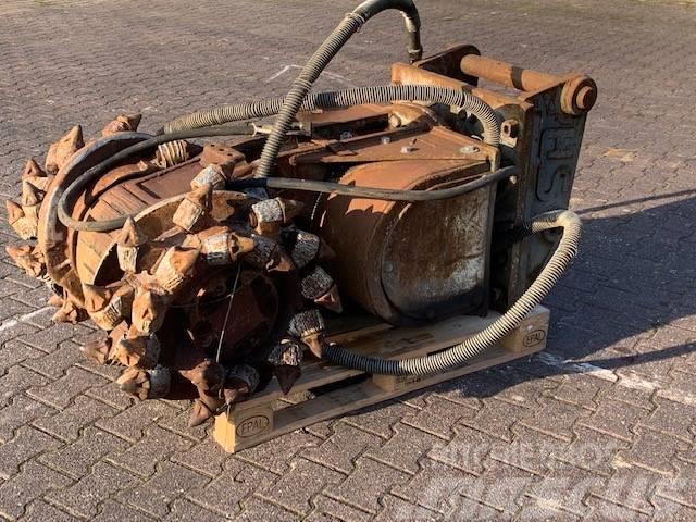 Erkat ER 1500 X   1750KG   Drum Cutter   Anbaufräse