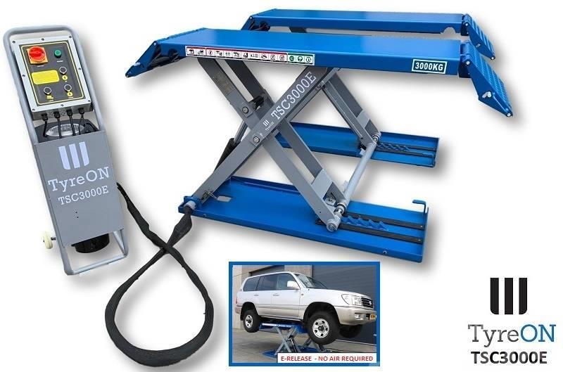 TyreOn TSC3000E | Car scissor lift | E-release | 3000 KG