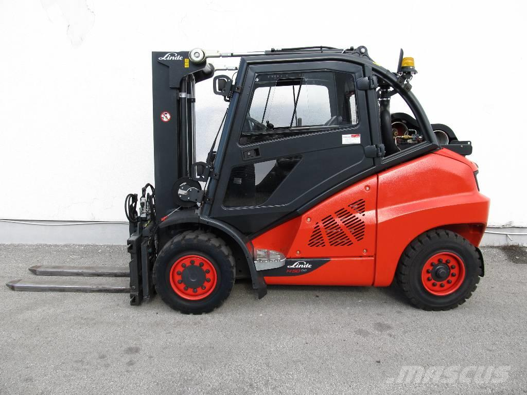 Gemeinsame Linde H50T/394, Preis: 47.390 €, Baujahr: 2015, Gas Stapler &RM_96