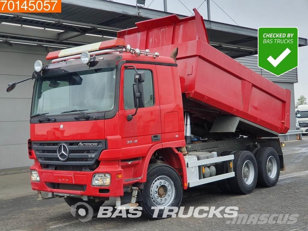 Mercedes-Benz Actros 3350 6X4 Big-Axle 3-pedals Euro 3
