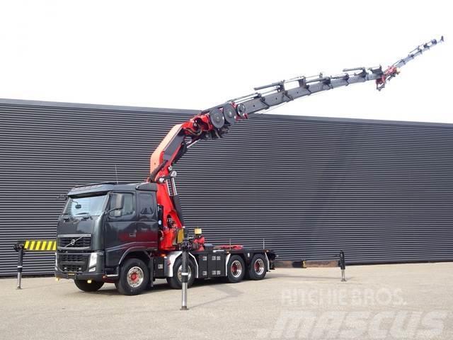 Volvo FH 480 8x4 EFFER 140 t/m CRANE FLY JIB + WINCH