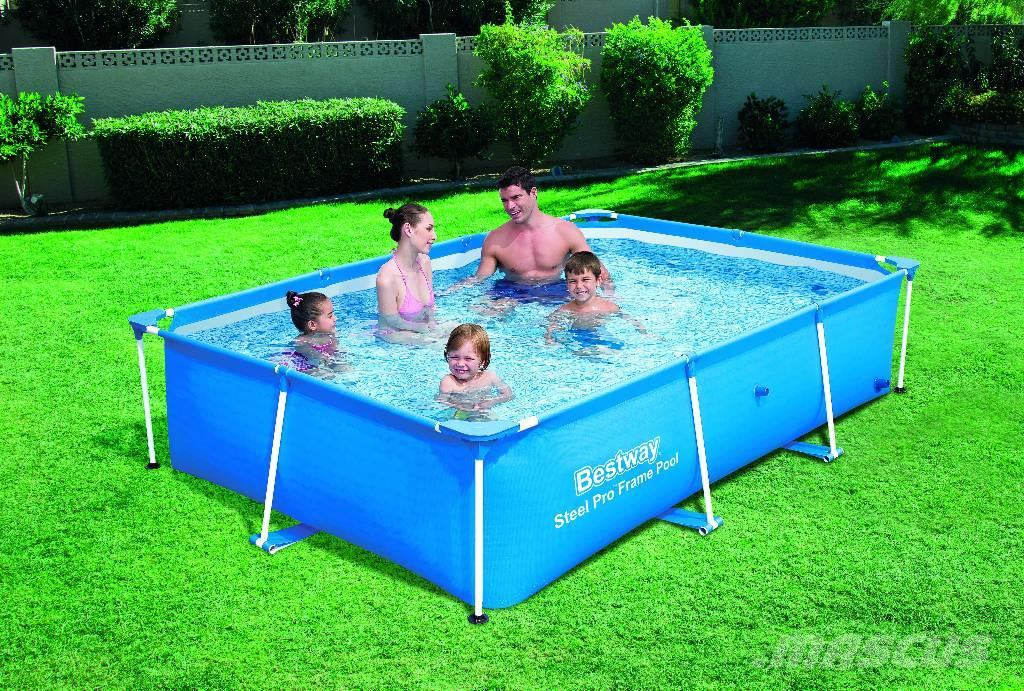 Used bestway259x170x61cm uima allas 2300 litraa other for Bestway pools for sale