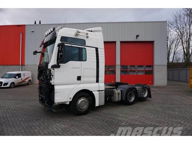 MAN TGX 28.480 / AUTOMATIC / 6X2 / 10 WHEELS / EURO-5