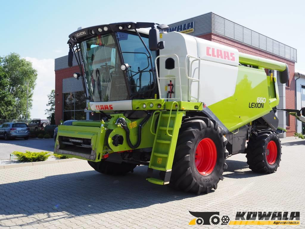 CLAAS Lexion 650 (4WD) + V750
