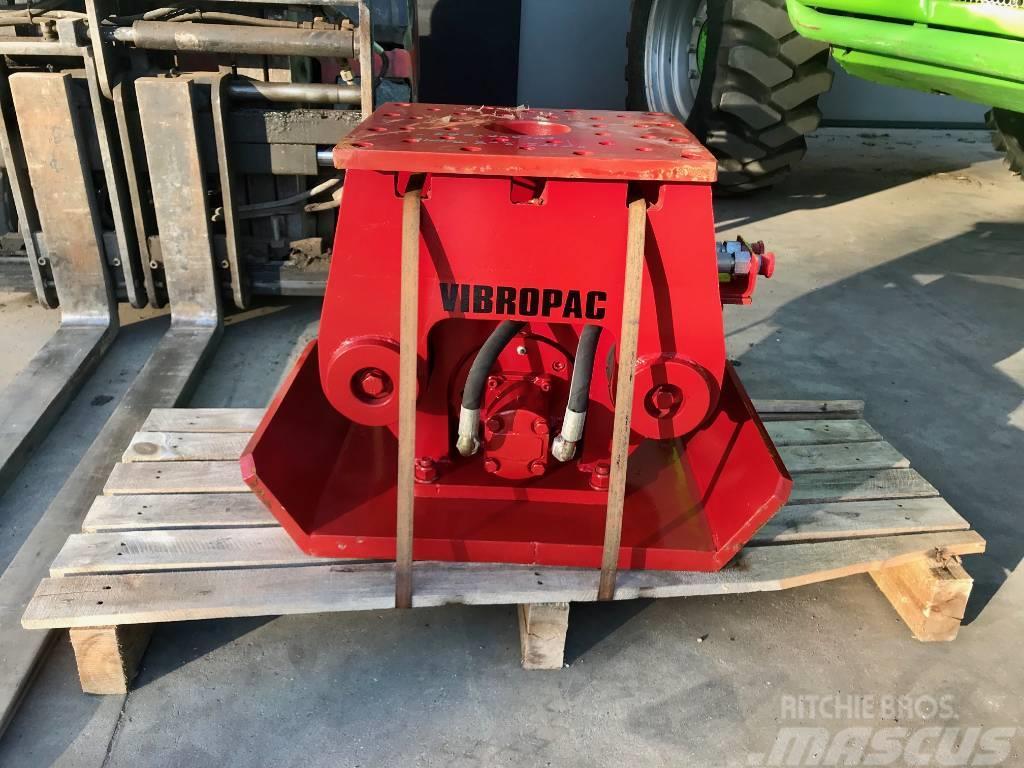 Vibropac HC208 compactor trilplaat